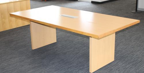 Image of a wood table.